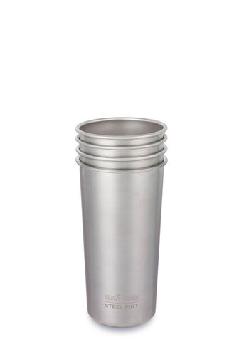 Steel Pint 20oz (592ml) - 4 Pack