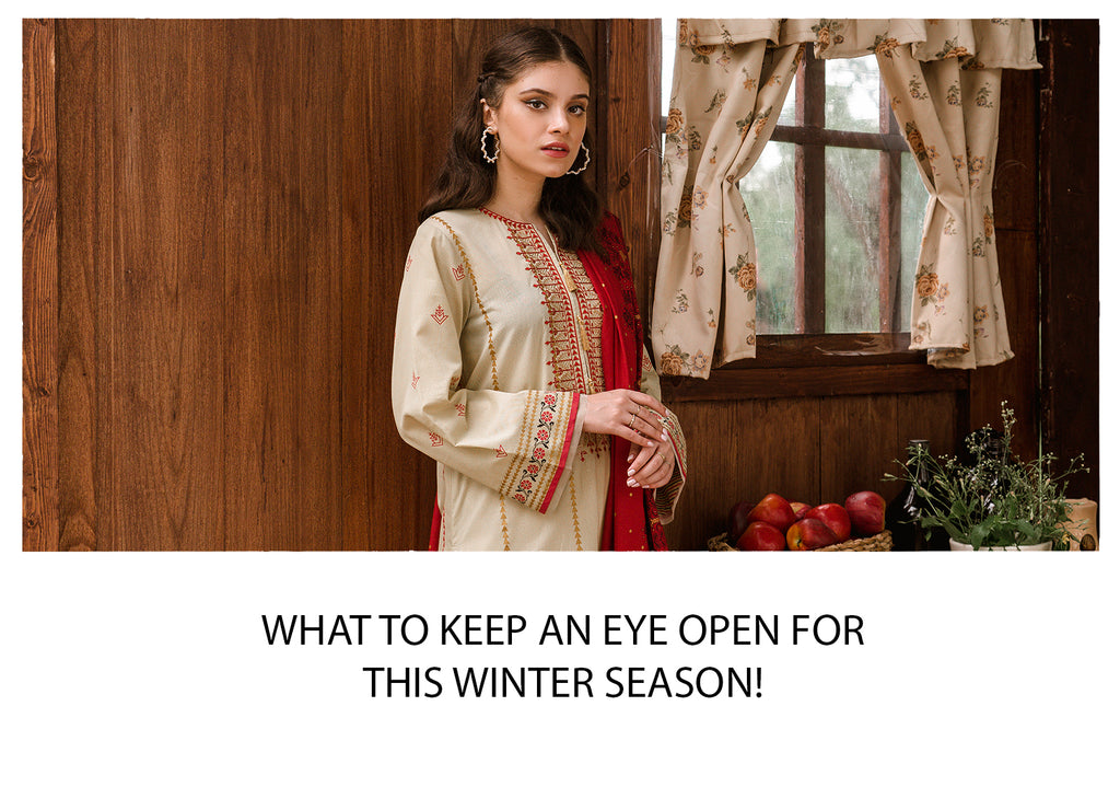 What to keep an eye open for this winter season!
