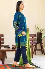 Unstitched 3 Piece Embroidered Textured Heavy Cotton Suit