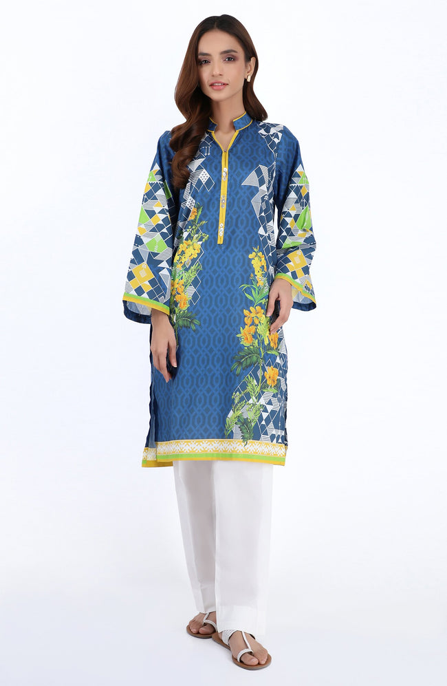Unstitched 1 Piece Printed Heavy Lawn Shirt