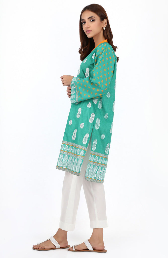 Stitched 1 Piece Embroidered Lawn Shirt