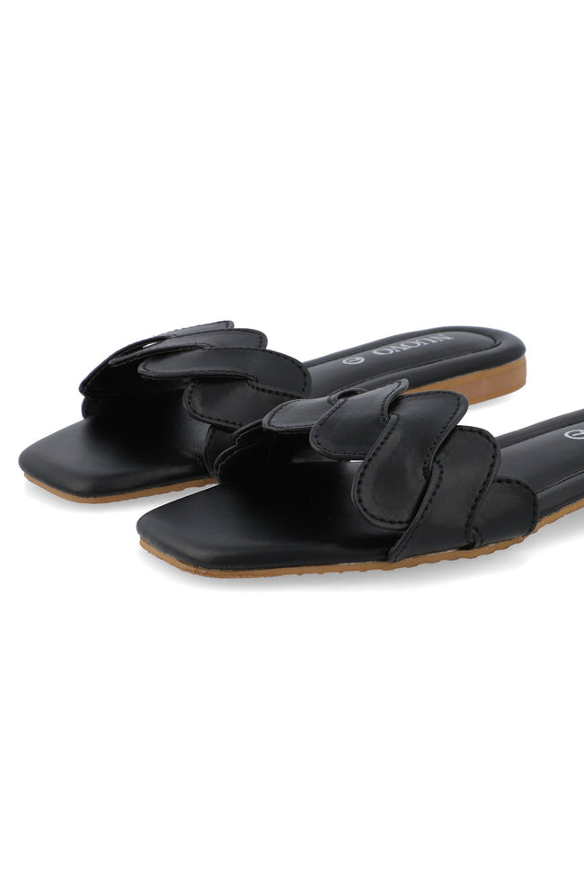 Women Slippers - Black