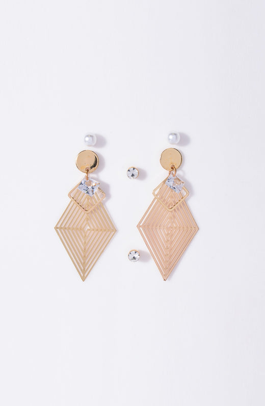 Hanging, Studs Earring Set