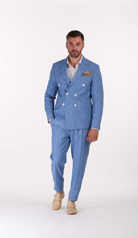 Costum Office Bleu - BMan046 (2)