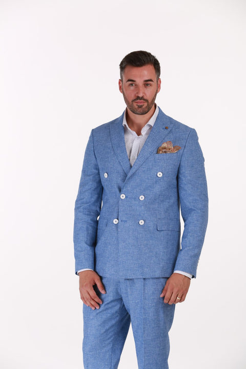 Costum Office Bleu - BMan046 (1)