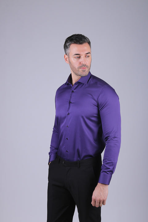 Camasa Slim Fit Mov - Bman524 (5)