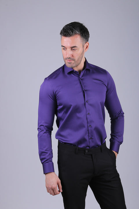 Camasa Slim Fit Mov - Bman524 (3)