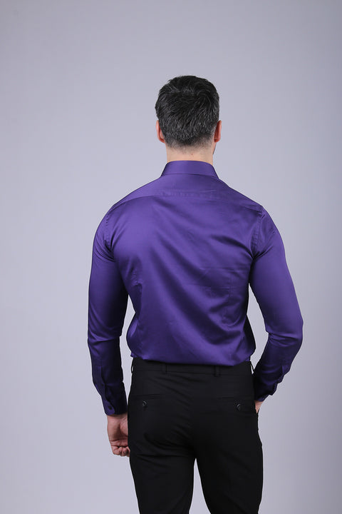 Camasa Slim Fit Mov - Bman524 (6)