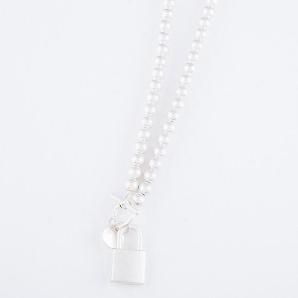 Toggle Lock Necklace