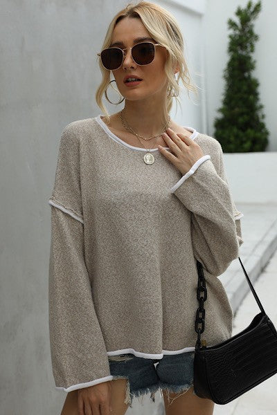 Hattie Sweater | Beige