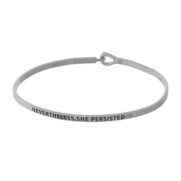 Nevertheless, She Persisted Bracelet | 2 colors