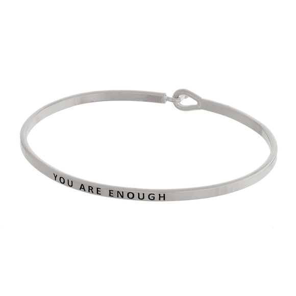 You Are Enough Bracelet | 2 colors