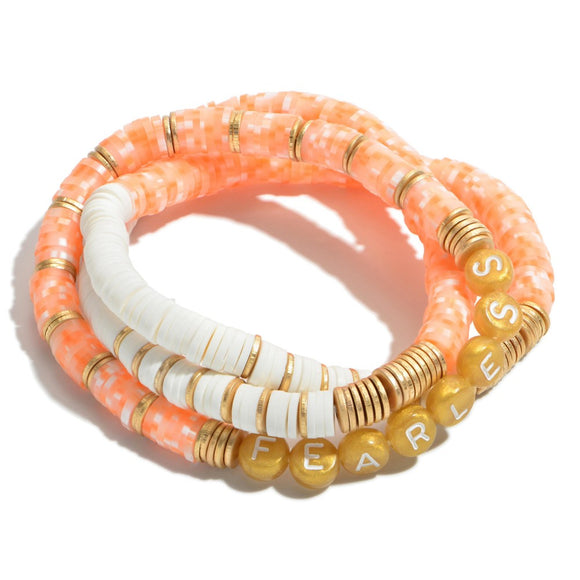 Fearless Stackable Bracelets