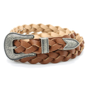 Boho Braided Belt