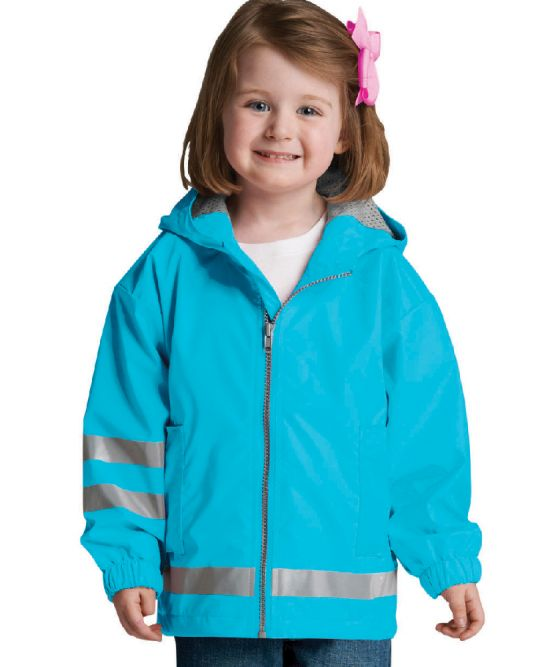 Toddler New Englander Rain Jacket - Wave
