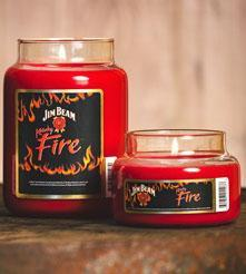Jim Beam Kentucky Fire | 26oz | Candleberry