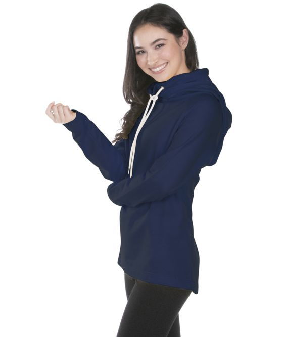 Women's Essex Hood & Cowl Tunic - Navy