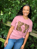 State Leopard Tee