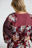 Floral Animal Print | Puff Sleeve