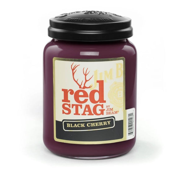 Red Stag Black Cherry Candle | 26oz | Candleberry