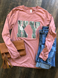 State Camo Tee Long Sleeve