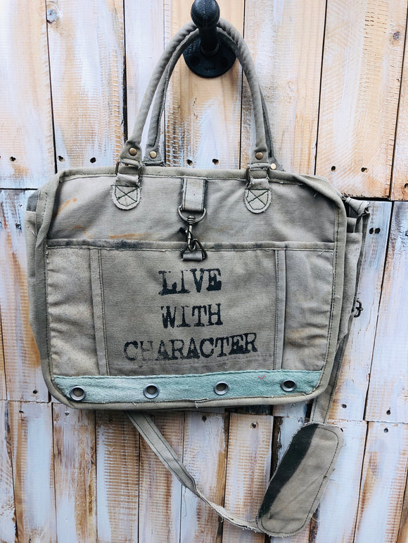 Live With Character Messenger Bag