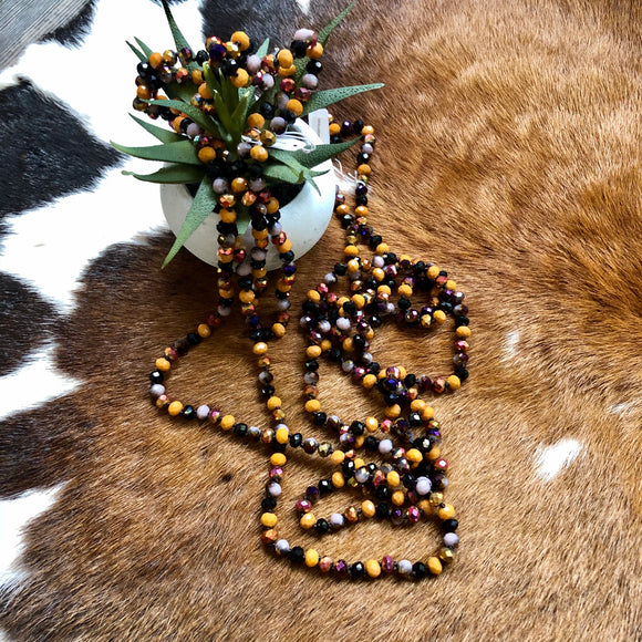 Fall beaded Necklace | 60