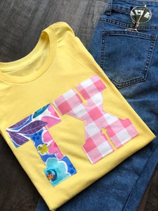 Sunshine and Gingham State Tee