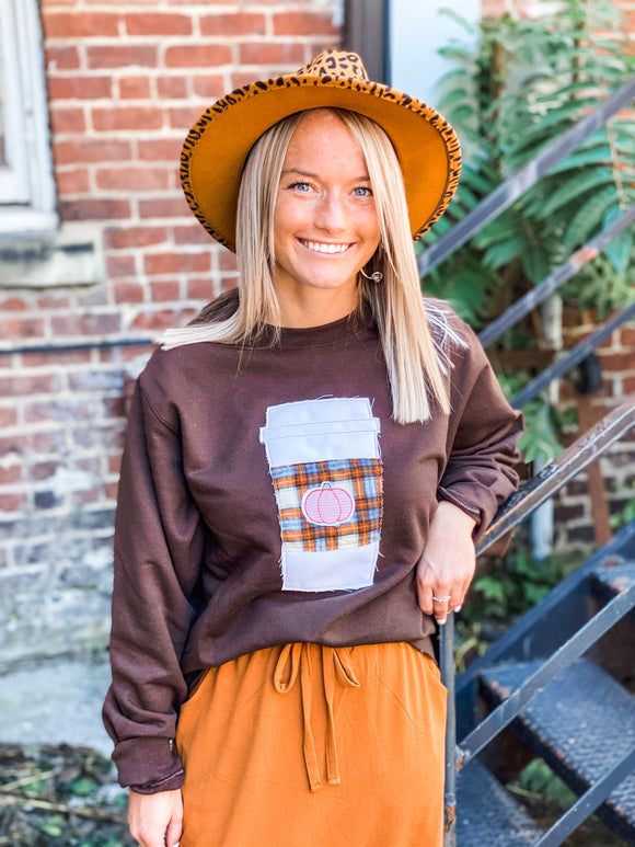 Pumpkin Latte Sweatshirt