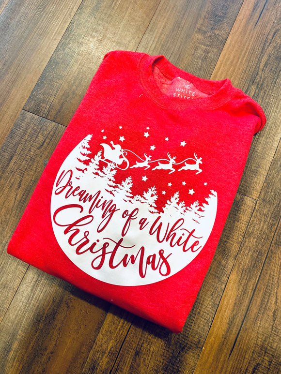 Dreaming Of A White Christmas | Sweatshirt