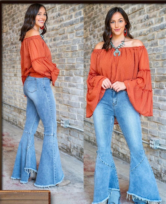 Made for more | Denim flare | Bell Bottoms