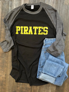 Pirates | Raglan | Graphic Tee