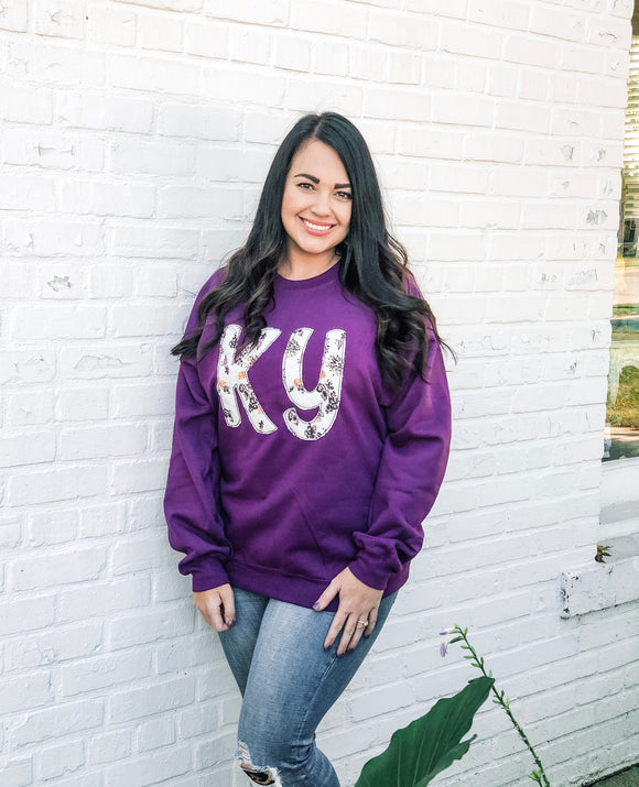 Plum Crazy | State| Sweatshirt