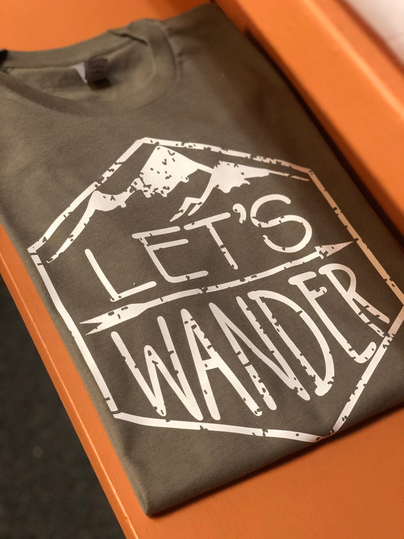 Lets Wander | Graphic Tee