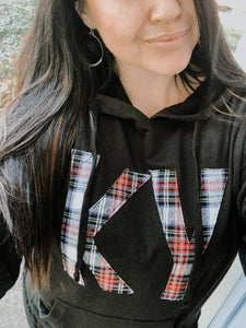Plaid Vibes | French Terry| State Hoodie