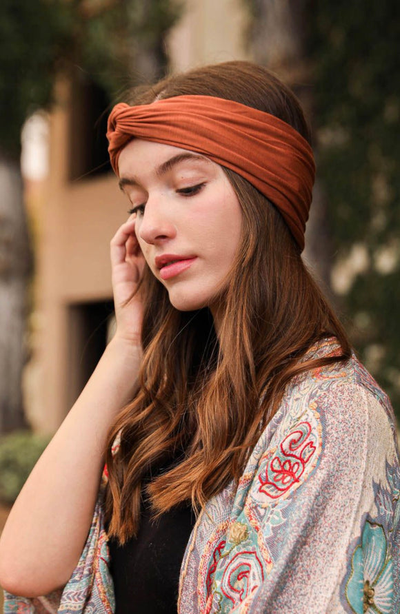 Knotted Headband | Solid | 6 Colors