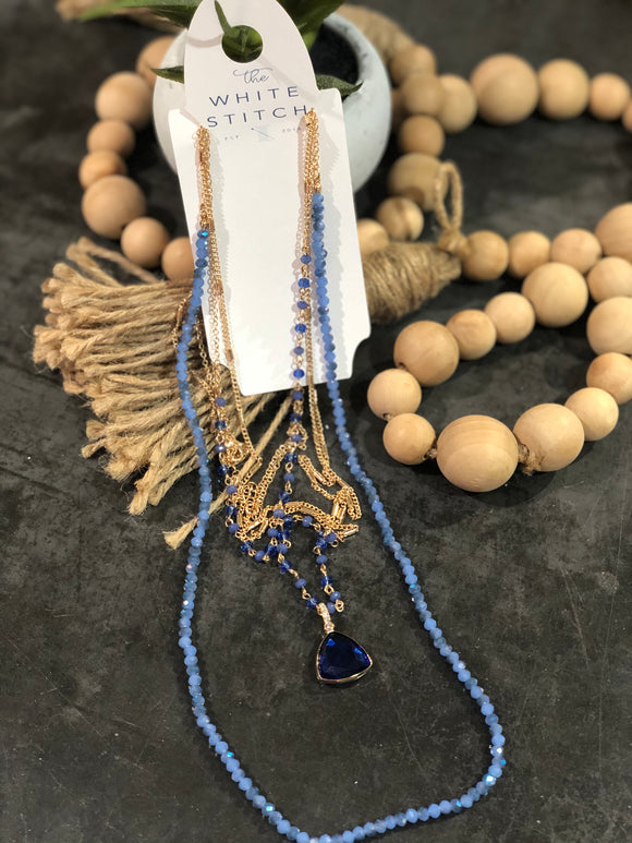 Azul Chain Necklace