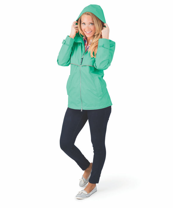 New Englander Rain Jacket - Mint