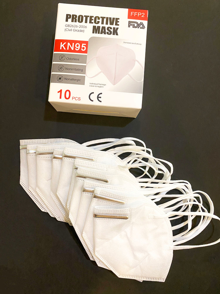 KN95 Protective Face Masks - 10 Pack