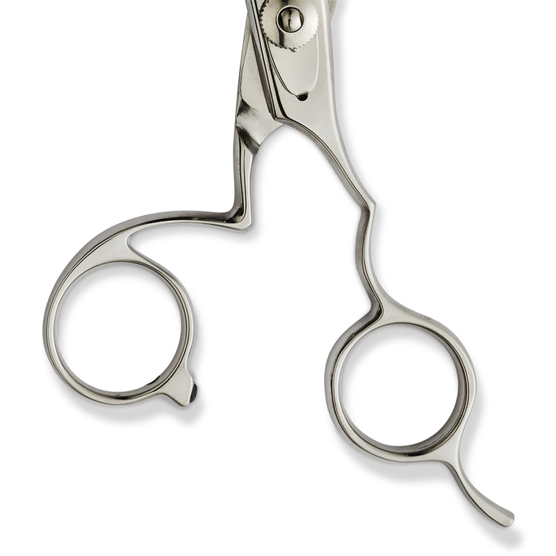 "Leader Kiss 2001 5.5"" Thinner Scissor with 5 Teeth"