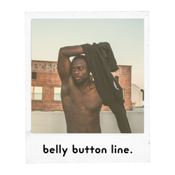 Belly Button Line Male