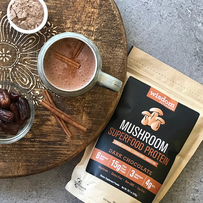 Wisdom Mushroom Superfood  - Dark Chocolate