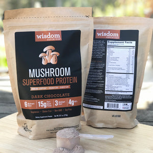 Mushroom Superfood Protein - Dark Chocolate
