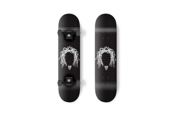 KCS x Gnarlywood Graphic Metal Head Skateboard