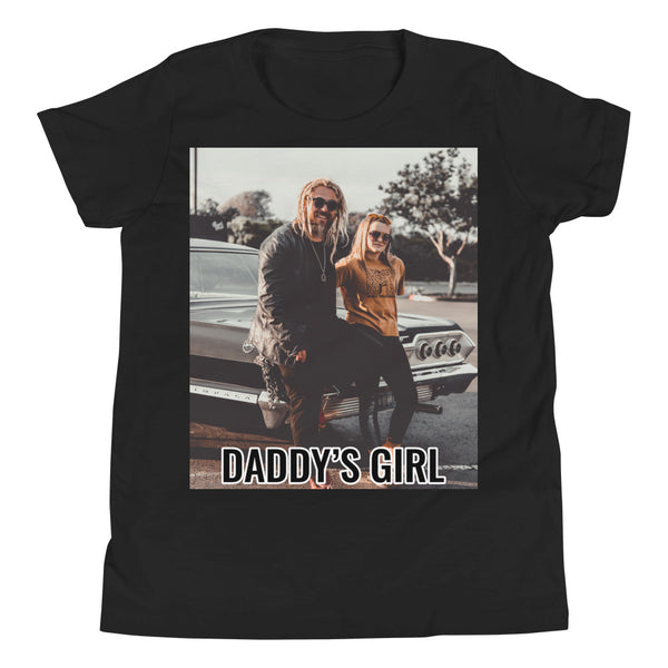 DADDY'S GIRL Youth Short Sleeve T-Shirt