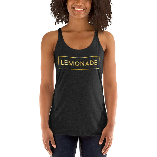"""LEMONADE"" Women's Racerback Tank"
