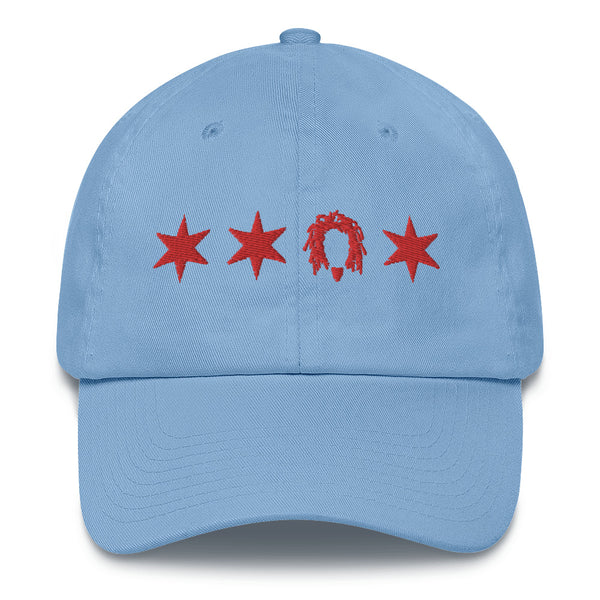 """CHICAGO"" 3D embroidery Cotton Cap"