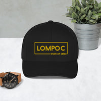 LOMPOC STATE OF MIND Trucker Cap