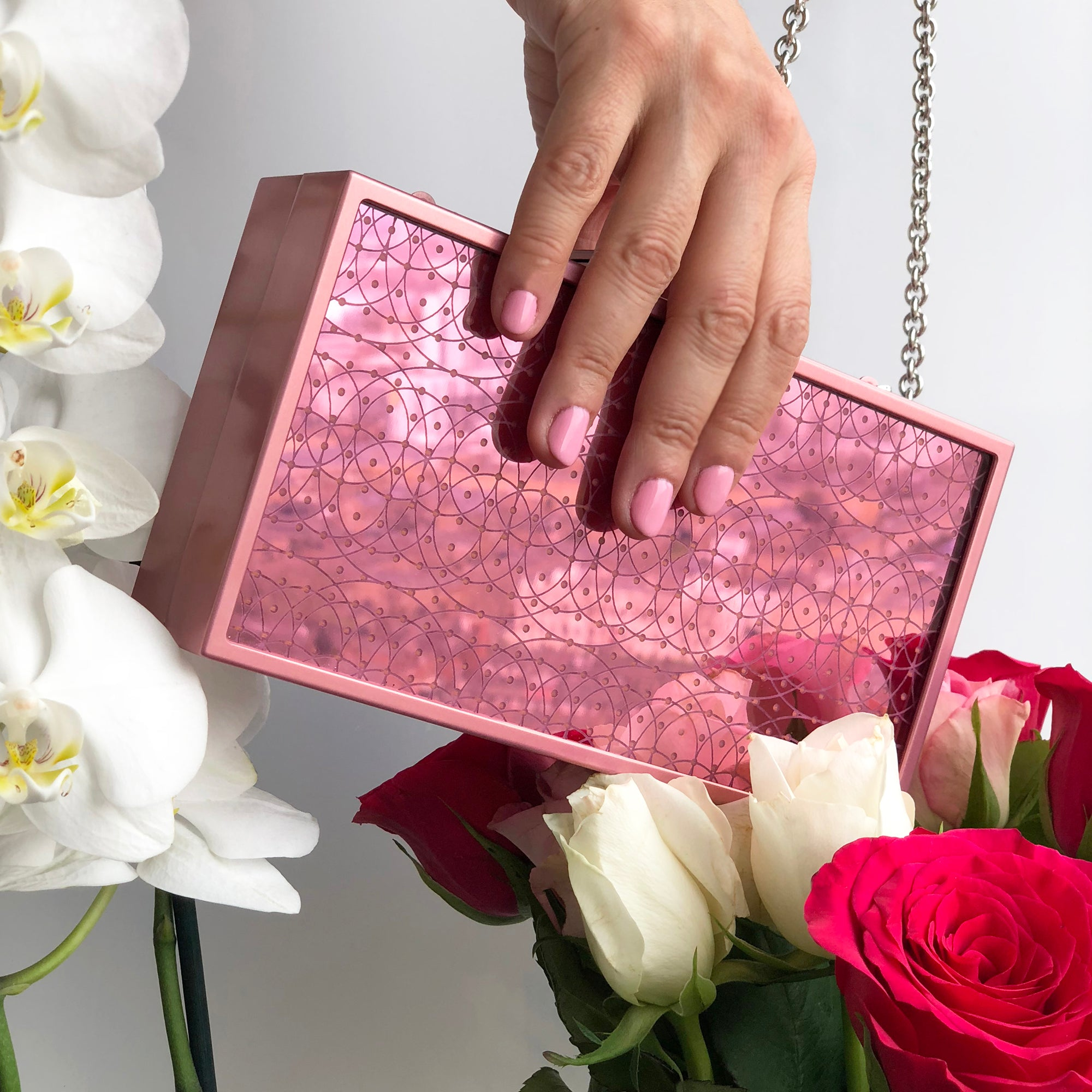 Pink Mirror Handbag (limited edition)