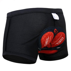 X-Tiger Men's Cycling Padded Compression Underwear